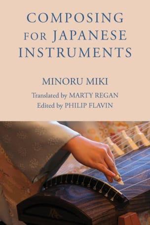 Composing for japanese instruments Minoru MIKI Livre laflutedepan
