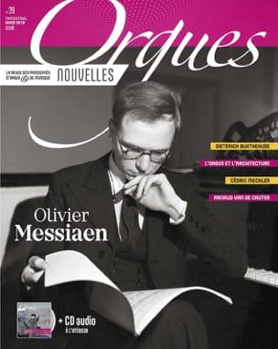 Orgues Nouvelles, n° 39 - Hiver 2018 - Revue - laflutedepan.com