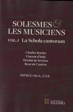 Solesmes et les musiciens, volume 1 : la Schola Cantorum laflutedepan
