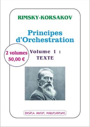 Principes d'orchestration avec exemples notés tirés de ses propres oeuvres laflutedepan
