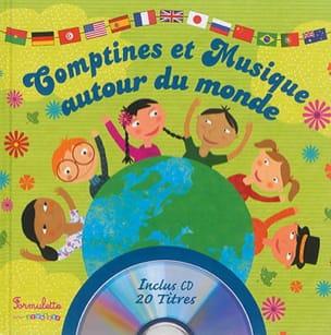 Sandrine LHOMME - Comptines et musiques autour du monde - Livre - di-arezzo.fr