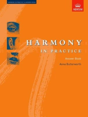 Harmony in pratice : answer book Anna BUTTERWORTH Livre laflutedepan