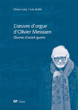 L'oeuvre d'orgue d'Olivier Messiaen : oeuvres d'avant-guerre laflutedepan