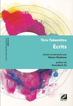 Ecrits TAKEMITSU Livre Les Hommes - laflutedepan