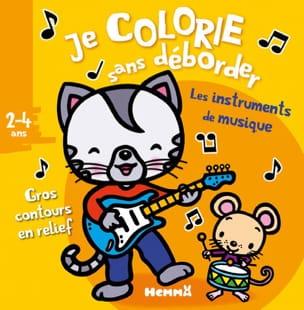 Les instruments de musique : je colorie sans déborder : 2-4 ans laflutedepan