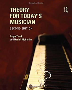 TUREK Ralph / Mc CARTHY Daniel - Theory for today's musician - Livre - di-arezzo.fr