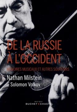 MILSTEIN Nathan / VOLKOV Solomon - De la Russie à l'Occident - Livre - di-arezzo.fr