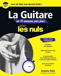 Antoine POLIN - Die Gitarre in 15 Minuten pro Tag für Dummies - Buch - di-arezzo.de