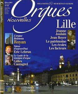 Orgues Nouvelles, n° 19 - Hiver 2013 Revue Livre Revues - laflutedepan