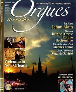Revue - Orgues Nouvelles, n° 18 - Automne 2012 - Livre - di-arezzo.fr