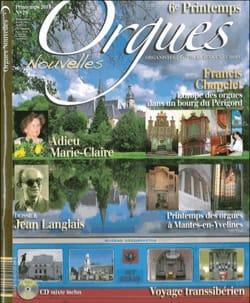 Orgues Nouvelles, n° 20 - Printemps 2013 - Revue - laflutedepan.com