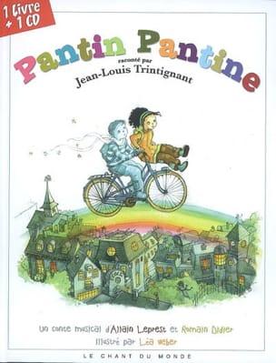 Pantin Pantine Collectif Livre Contes musicaux - laflutedepan