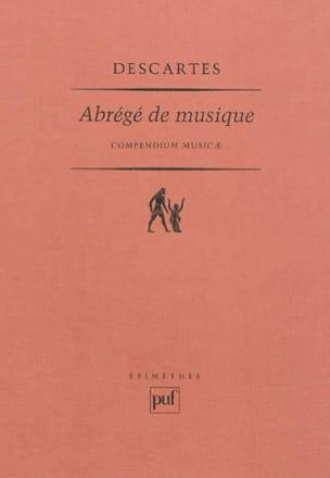 Abrégé de musique - René DESCARTES - Livre - laflutedepan.com