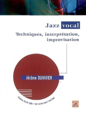 Jazz vocal : techniques, interprétation, improvisation - laflutedepan.com