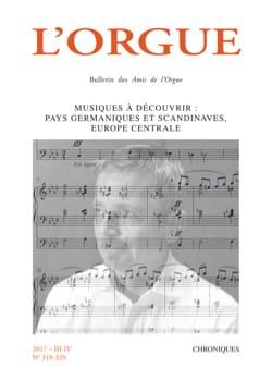 Revue - L'orgue, n° 319-320 - Livre - di-arezzo.fr