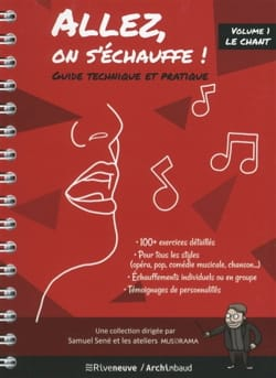 Samuel SENE - Come on, we're warming up! : technical and practical guide - Book - di-arezzo.co.uk