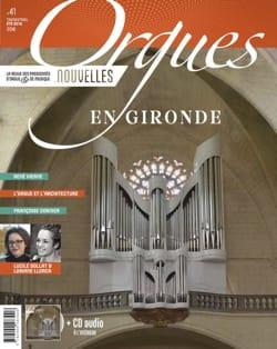 Revue - Orgues Nouvelles, n° 41 - Eté 2018 - Livre - di-arezzo.fr