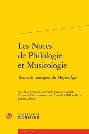 Les noces de philologie et musicologie : textes et musiques du Moyen-Âge - laflutedepan.com