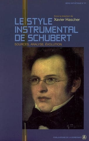 Le style instrumental de Schubert : sources, analyse, évolution - laflutedepan.com