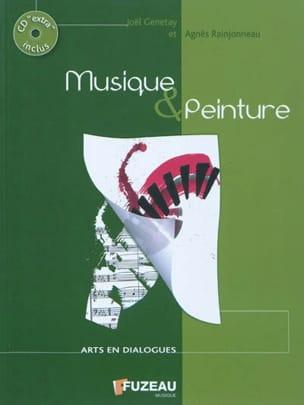 Musique & peinture GENETAY Joël / RAINJONNEAU Agnès laflutedepan