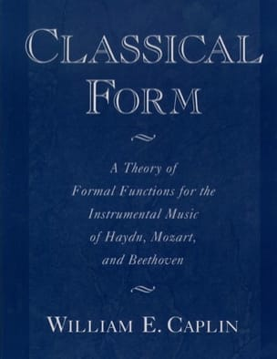 Classical form - CAPLIN William E. - Livre - laflutedepan.com
