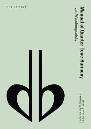 Manual of quarter-tone harmony - laflutedepan.com