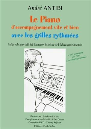 Le piano d'accompagnement vite et bien avec les grilles rythmées laflutedepan