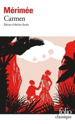 Carmen Prosper MERIMEE Livre Les Arts - laflutedepan