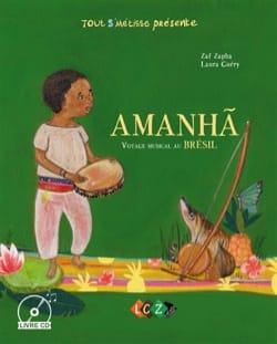 Amanha : voyage musical au Brésil Zaf ZAPHA Livre laflutedepan