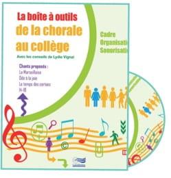 Lydie VIGNAL - La boîte à outils de la chorale au collège - Livre - di-arezzo.fr