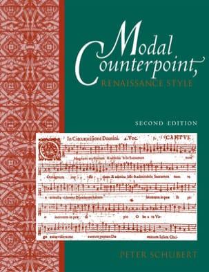 Modal counterpoint, Renaissance style Peter SCHUBERT laflutedepan