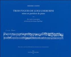 Trois fugues de Luigi Cherubini mises en partition de piano - laflutedepan.com