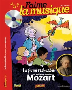 La plume enchantée de Wolfgang Amadeus Mozart - laflutedepan.com