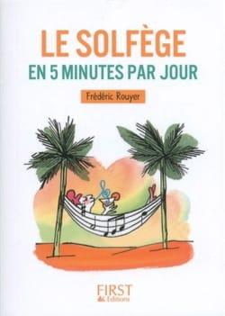 Le solfège en 5 minutes par jour Frédéric ROUYER Livre laflutedepan