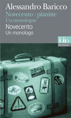 Novecento : un monologo - Alessandro BARICCO - laflutedepan.com