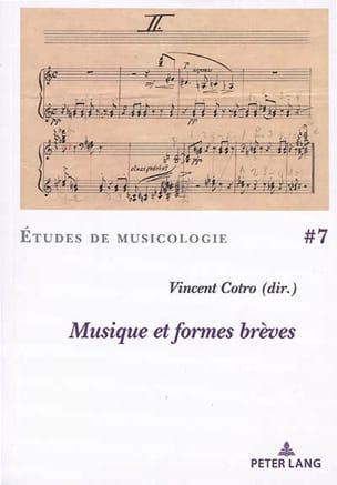 Musique et formes brèves - COTRO Vincent dir. - laflutedepan.com