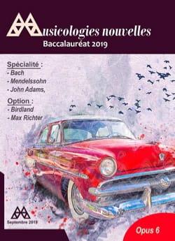 Revue - Musicologies Nouvelles - Baccalauréat 2019 - Livre - di-arezzo.fr