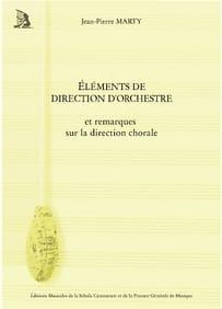 MARTY Jean-Pierre - Éléments de direction d'orchestre - Livre - di-arezzo.fr