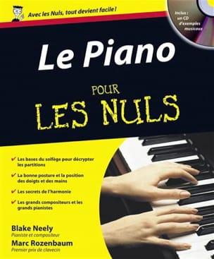 Le Piano pour les nuls NEELY Blake / ROZENBAUM Marc Livre laflutedepan