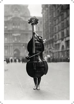 Carte - Card - Violin with legs - Sheet Music - di-arezzo.co.uk