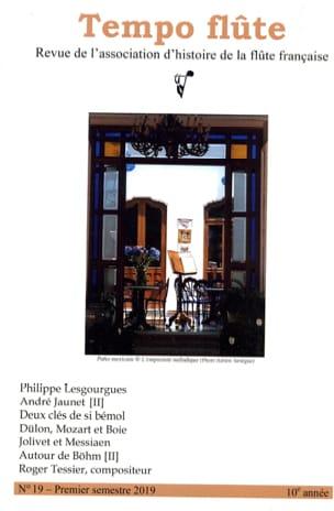 Tempo flûte, n° 19 (Premier semestre 2019) Revue Livre laflutedepan