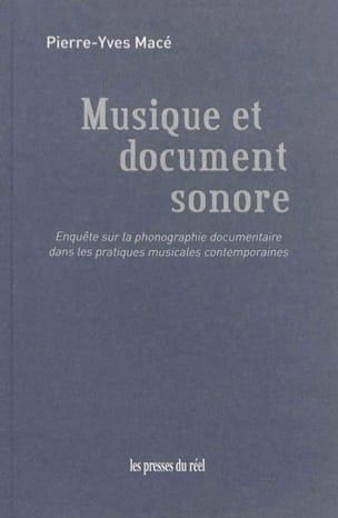 Musique et document sonore - MACE Pierre-Yves - laflutedepan.com