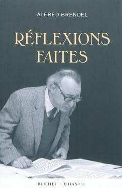 Réflexions faites - Alfred BRENDEL - Livre - laflutedepan.com