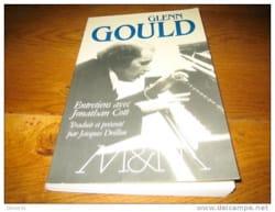 Glenn gould, entretiens Jonathan COTT Livre Les Hommes - laflutedepan