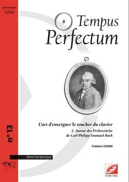 Tempus Perfectum, n° 13 - L'art d'enseigner le toucher du clavier, volume 2 laflutedepan