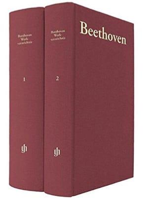 DORFMÜLLER - Catalogue thématique des oeuvres de Beethoven - Livre - di-arezzo.fr
