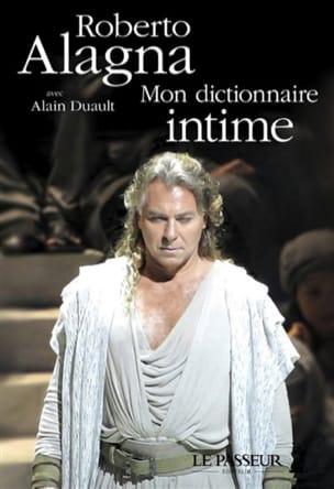 Roberto ALAGNA - Mon dictionnaire intime - Livre - di-arezzo.fr