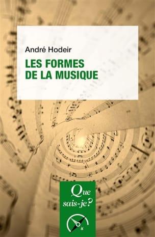 Les formes de la musique André HODEIR Livre laflutedepan