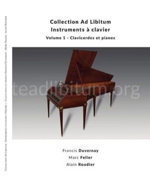 Collectif - Instruments à clavier, vol. 1 : clavicordes et pianos - Livre - di-arezzo.fr