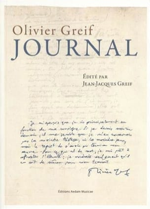Journal Olivier GREIF Livre Les Hommes - laflutedepan
